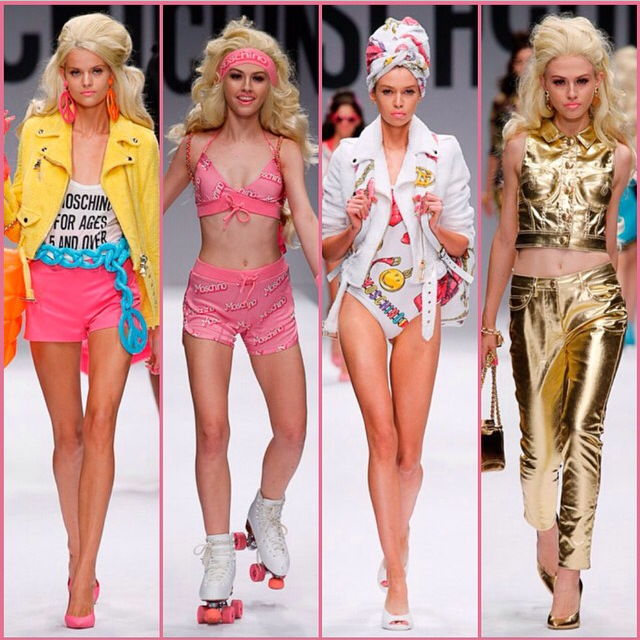 Moschino Barbie Fashion Show anyone hate this show